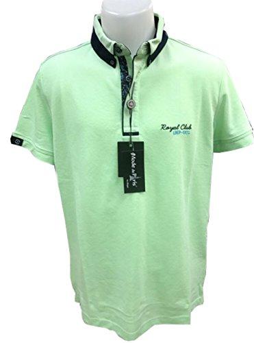 Herren Piquet Poloshirt mit Knöpfen halbarm