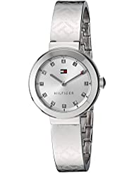 Tommy Hilfiger Womens Quartz Stainless Steel Casual Watch, Color:Silver-Toned (Model: 1781714)