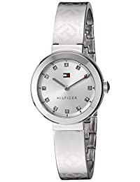 Tommy Hilfiger Women's 1781714 Analog Display Quartz Silver Watch