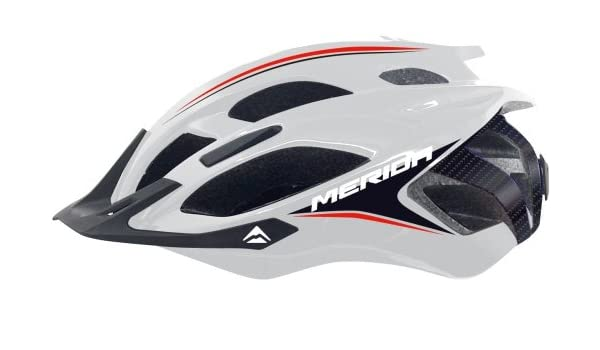 Merida casco de montaña TYRADE sez./ blanco/rojo 59-61: Amazon.es ...