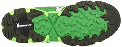 Mizuno Men's Wave Daichi 3 Running Shoes, Black Green (Brightgreen/White/Greengecko 01)