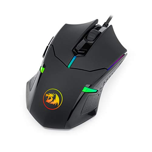 Redragon M601 CENTROPHORUS-2000 DPI Gaming Mouse for PC, 6 Buttons, Weight Tuning Set.