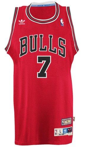 Tony Kukoc Chicago Bulls Adidas NBA Throwback Swingman Jersey - Red