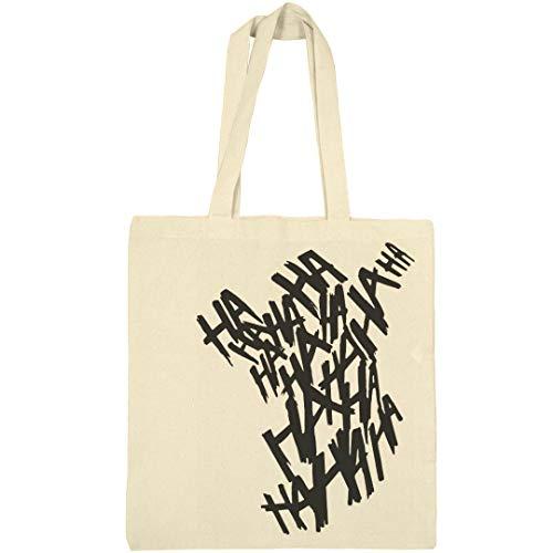 Trick Or Treat Joker Bag: Canvas Bargain Tote Bag -