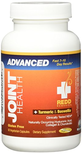 Redd Remedies - Joint Health Advanced, Helps Strengthen Connective Tissue and Cartilage, 60 count