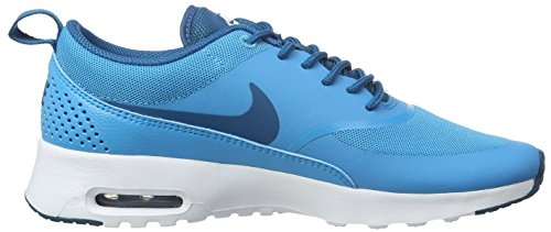 Nike Women's Air Max Thea Low-Top Sneakers, Cargo Khaki Azul (Blue Lagoon / Green Abyss-white)