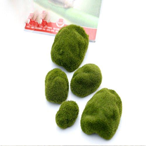 Decorative Moss Balls Extraordinary Khannika Fake Moss Decor Green Moss Balls Moss Aquarium