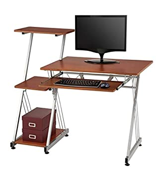 Brenton Studio Limble Computer Desk, Cherry