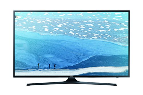 Samsung UE40KU6079UXZG 101,6 cm (40 Zoll) Fernseher (Ultra HD, Triple Tuner, Smart TV) schwarz