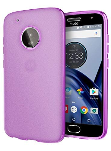 Moto G5 Plus Case, Cimo [Matte] Premium Slim Protective Cover for Motorola Moto G5 Plus (2017) - Purple