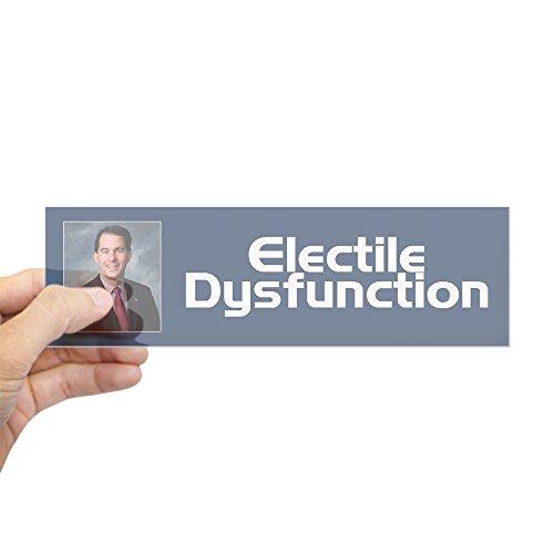CafePress - Electile Dysfunction - 10'x3' Rectangle Bumper Sticker Car Decal