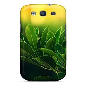 Ideal BlingCaseIn Case Cover For Galaxy S3(plants With Sunrise), Protective Stylish Case