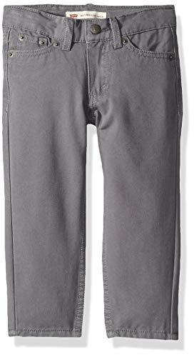 Levi's Boys' Big 502 Regular Fit Taper Jeans, Quiet Shade, 8 (Big Shades)