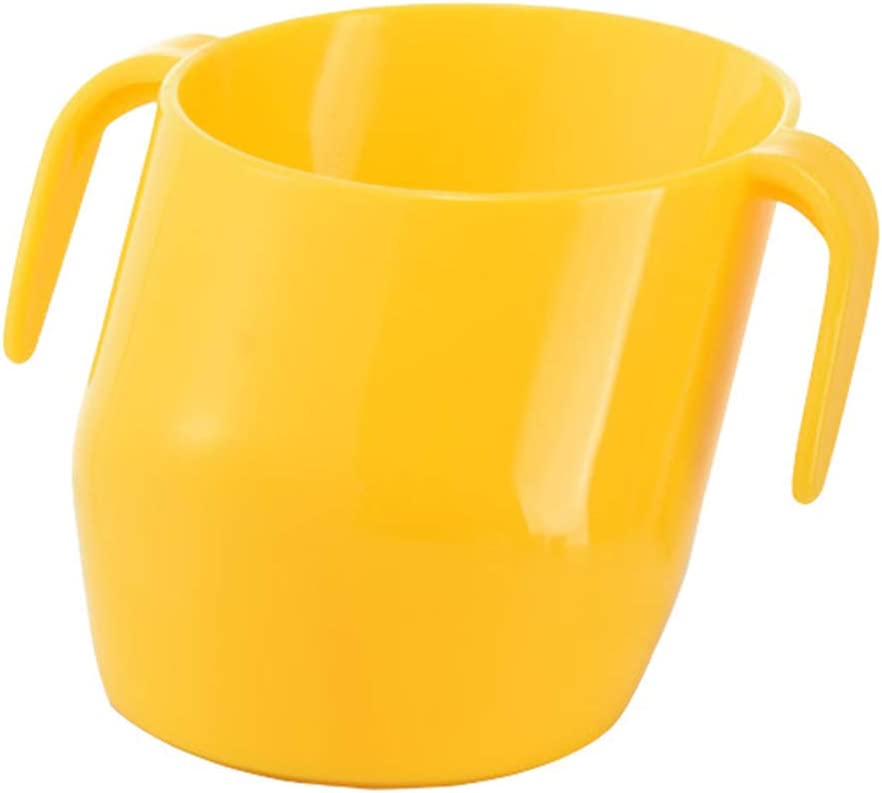 WINBST Doidy Cup la Tasse dapprentissage de la Boisson Saine B/éb/é Tasse de Formation /à Boire Coupe inclin/ée Tasse en Plastique pour Les Enfants Tasse dapprentissage de la Boisson