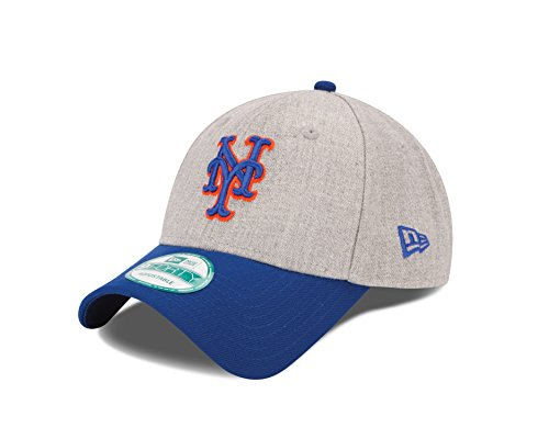 MLB New York Mets The League Heather 9Forty Adjustable Cap, One Size, ()