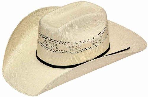 Twisters Men's Bangora Straw Cowboy Hat Natural 7 1/2