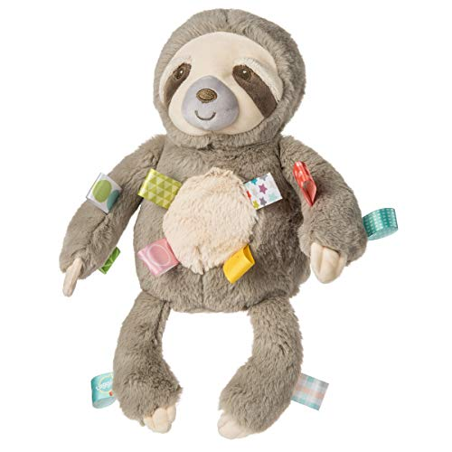 Taggies Stuffed Animal Soft Toy, Molasses Sloth, 12-Inches
