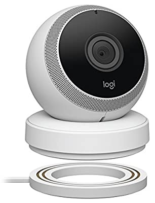 Logitech Logi Circle Wi-Fi Portable Video Security Camera with 2way talk Black (961-000392)