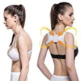 Nrpfell Posture Corrector Device to Improve Bad Posture Mini Babaka Chest Belt Posture Corrector Belt