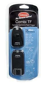 Hähnel Combi TF Nikon - Mando a distancia + disparador de flash sin cable (alcance 100 m)