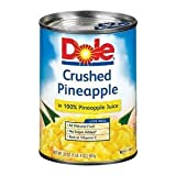 Dole Pineapple in Juice Crushed - 20 oz