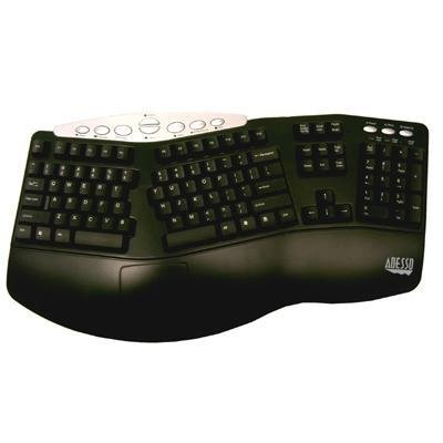 Adesso Ergo Keyboard Combo Black