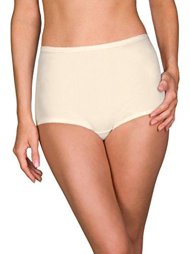 (Shadowline Women's Plus Size Spandex Classic Brief, Ivory 3X)