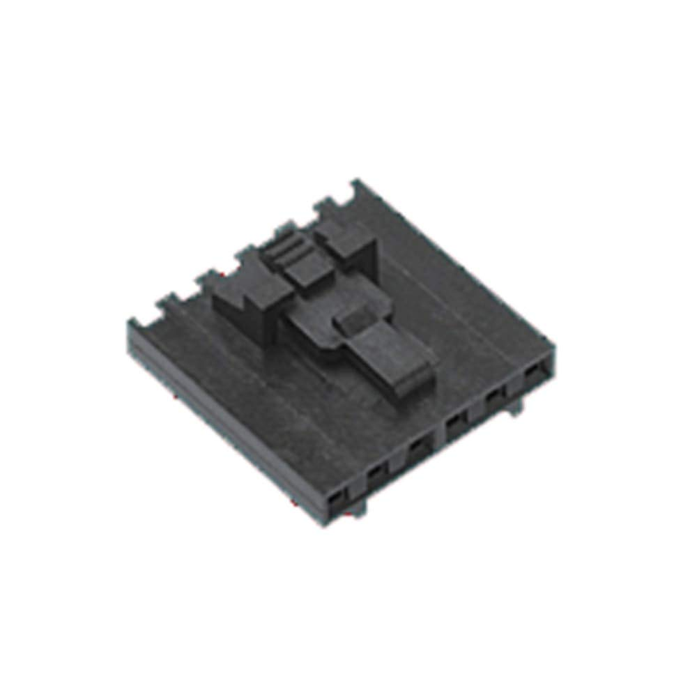 SL Series 2.54mm Pitch 6 Way 1 Row Female Straight PCB Housing 70066 - Pack of 25
