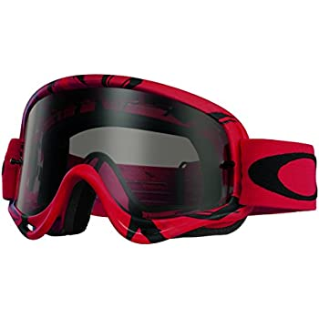 red and black oakleys  Amazon.com: Oakley XS O-Frame MX Goggles (Jet Black Frame/Clear ...