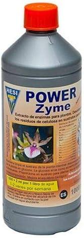 Fertilizante Estimulador Hesi Power Zyme Hongo Alimento Crecimiento para Cultivos de Cannabis y Marihuana. Mejora su Crecimiento y Floración. Aditivo. Producto CE. 1Litro