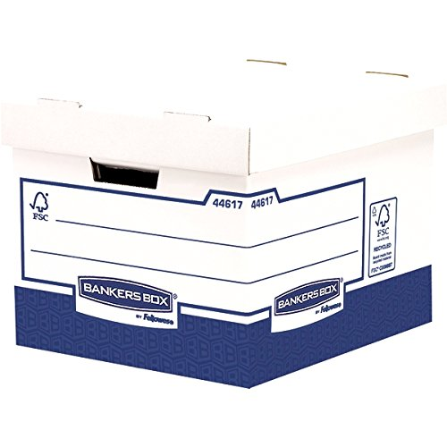 Bankers Box Basic Heavy Duty Standard Storage Box (Pack of - Boxes Basic Storage Strength