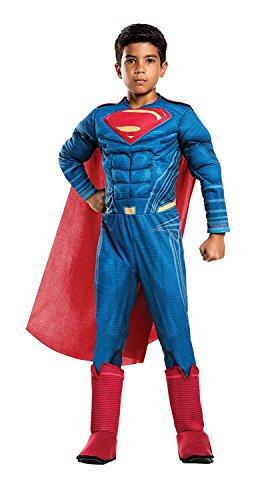 Rubie's Costume Boys Justice League Deluxe Superman Costume, Small, Multicolor