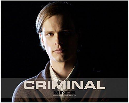 Criminal Minds 8 x 10 Photo Dr  Spencer Reid/Matthew Gray Gubler