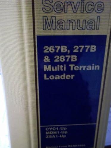 caterpillar 267b 277b 287b multi terrain loader service manual rh amazon com Cat Track Skid Steers caterpillar 277b parts manual