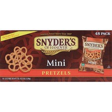 Snyder's Mini Pretzels (1.5 oz, 288 ct.)