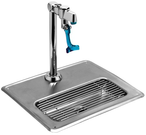 T S Brass 5GF-8P-WS Water Station with Retro Glass Filler