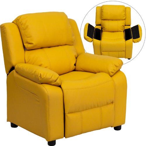Zuffa Home Furniture Yellow kids recliner