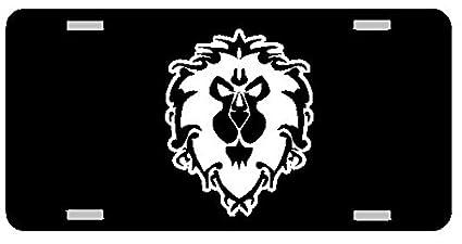Wow Alliance Logo Stencil