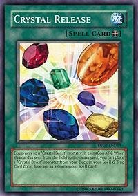 Yu-Gi-Oh! - Crystal Release (DP07-EN019) - Duelist Pack 7 Jesse Anderson - Unlimited Edition - Super Rare