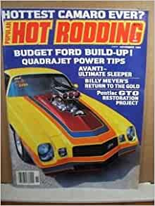 Popular Hot Rodding Magazine - Hottest Camaro Ever