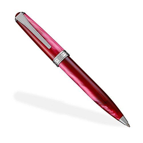Levenger True Writer Classic Ballpoint Pen, Red (AP14048 RD NM) ()