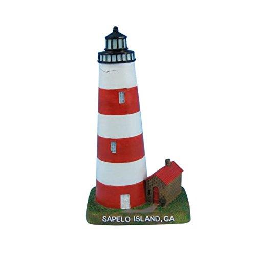 Hampton Nautical Sapelo Island Lighthouse Decoration, 7