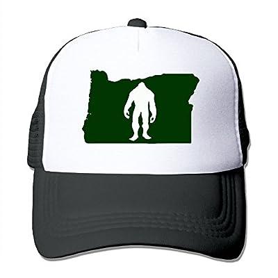 Oregon Bigfoot Men's Adjustable Mesh Back Cap Hat
