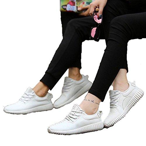 Primavera Y Otoño Sra CHT Salvajes Ocasionales De Los Deportes Zapatos De Los Amantes White