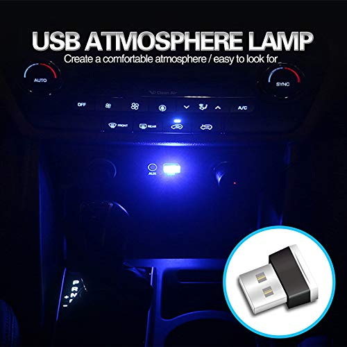 Martinimble Flexible Mini USB LED Light Colorful Lamp Atmospheres Bright Light Car Styling by Martinimble (Image #2)