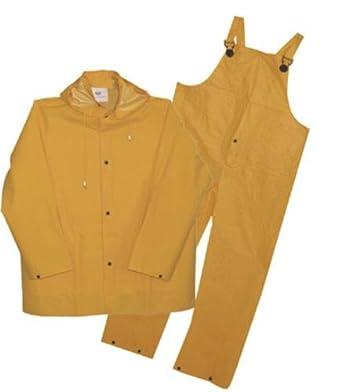 Amazon.com: BOSS Rainsuit de tres piezas pequeñas pvc en ...