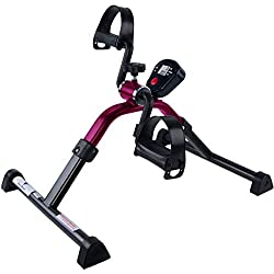 Medical Folding Pedal Exerciser with Electronic Display