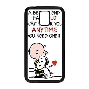 Cute Snoopy Lovely Dog Cartoon White Samsung Galaxy S5 case
