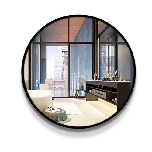 Round Wall Mount Bathroom Mirrors  Wall Mounted Vanity Makeup and Shaving Mirror  -