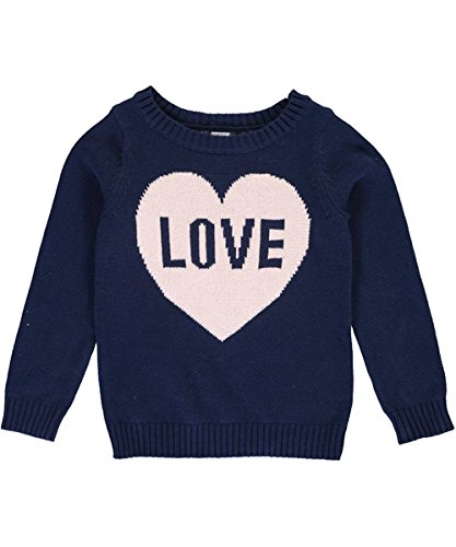 Carter's Girls' Sweater 273g625, Navy, 5 by Carter's (Image #2)